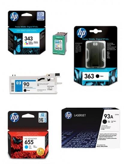 Tinta HP OfficeJet 7612wideformat Magenta - CN055AE