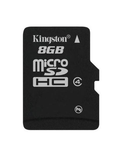 Memorijska kartica  Kingston SD MICRO 8GB HC Class 4 + SD adapter