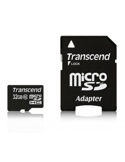 Memorijska kartica Transcend SD MICRO 32GB HC Class10 + SD adapter