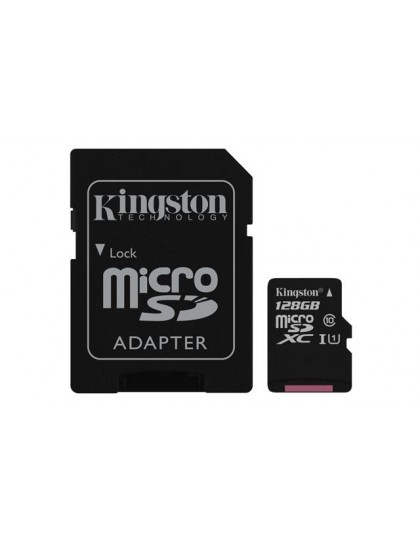 Memorijska kartica  Kingston SD MICRO 128GB Class 10 UHS-I + ad