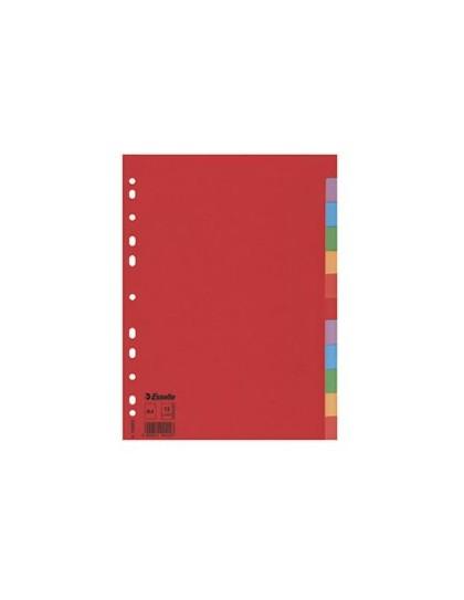 Pregrada kartonska format A4 - crvena Esselte