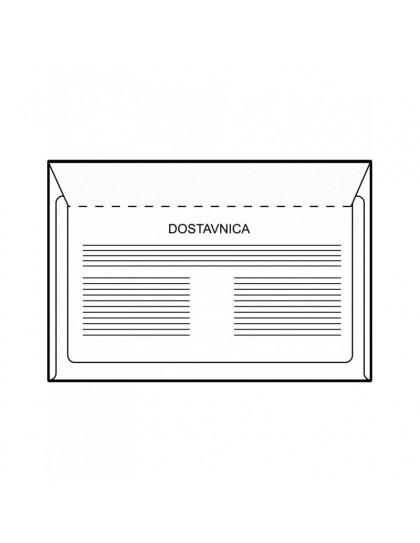 Kuverta B6 s povratnicom, set od 1000 komada
