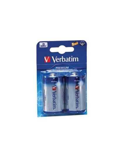 Baterija alkalna D Premium Verbatim