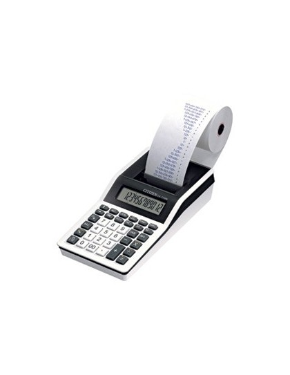 Kalkulator s trakom i pisačem Citizen