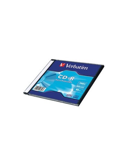 CD-R, 700 MB, 52x, Extra protection površina Verbatim
