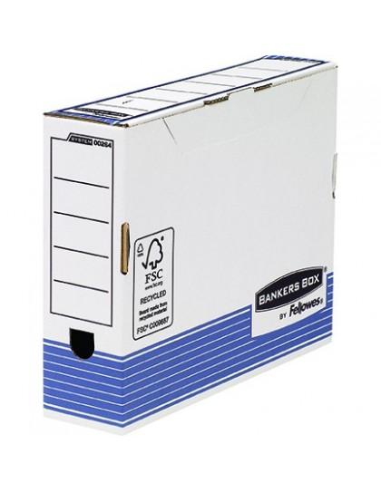 Arhivska kutija A4 Plavo bijela System Fellowes