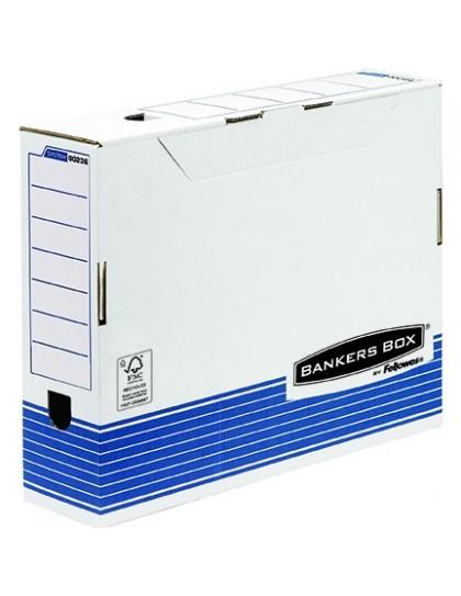 Arhivska kutija A3 Plavo bijela System Fellowes (100mm) 2+1 gratis